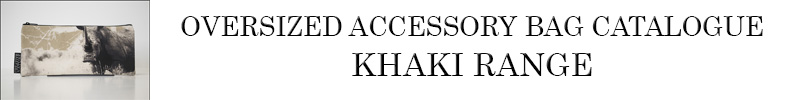 Oversized Accessory Bag Khaki Catalogue
